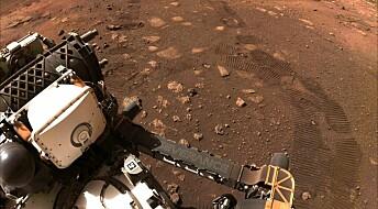 Hør lyder fra Mars-overflaten