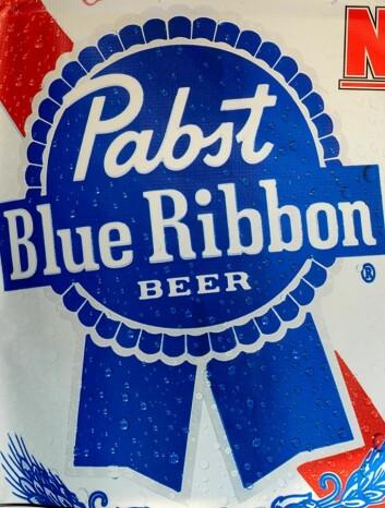 Ølmerket Pabst Blue Ribbon (Foto: Keoki Seu/Flickr Creative Commons)