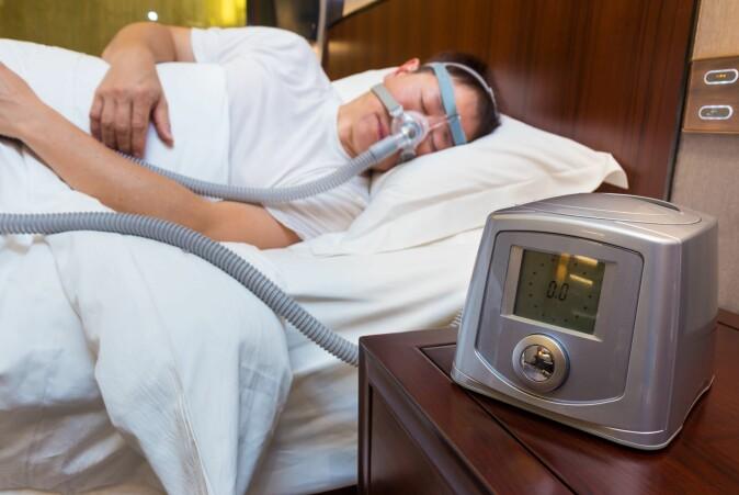 Det finnes gode behandlingsmåter, først og fremst maske med pusteapparat, på fagspråket CPAP (Continuous Positive Airway Pressure).