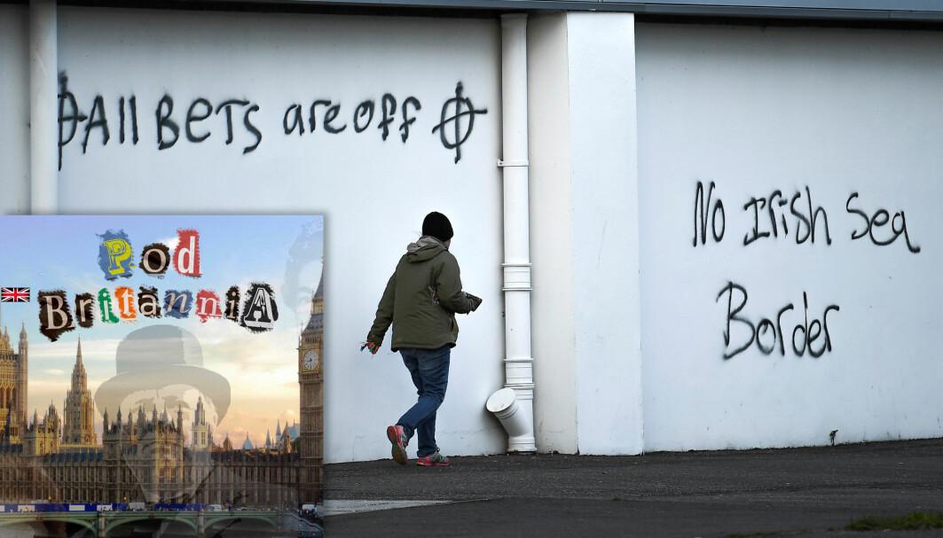 Den irske grensa har vært et stridsspørsmål siden forhandlingene om brexit startet høsten 2016.