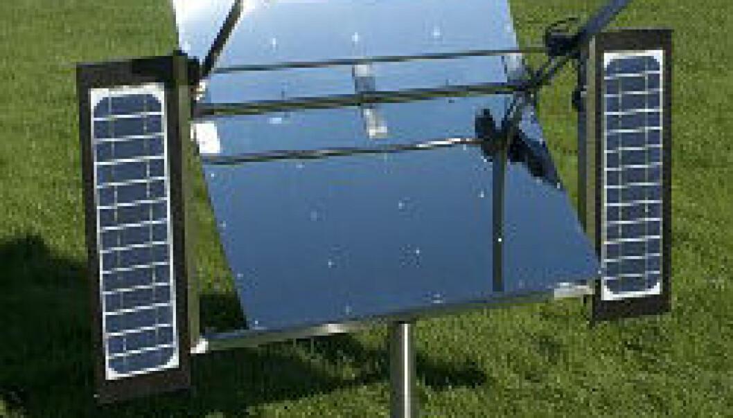 Verdas første solcelledrivne grill