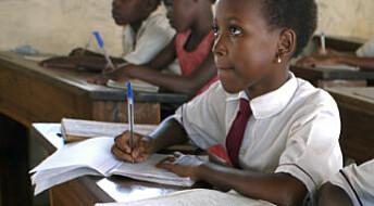 Skole mot overbefolkning