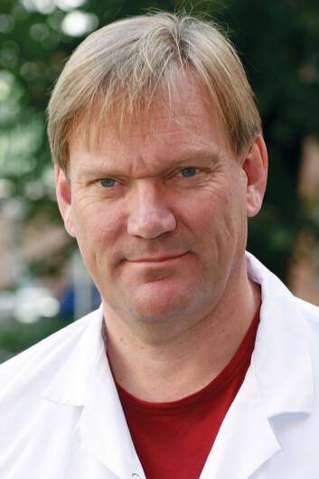 Per Morten Sandset, professor ved Oslo universitetssykehus. (Foto: Birgit S. Kjelvik)