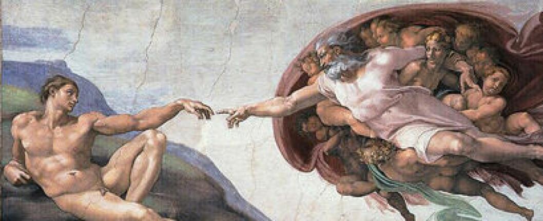 Kan naturvitenskapen avkrefte Guds eksistens? Nei, ifølge Immanuel Kant. (Foto: Wikimedia Commons)