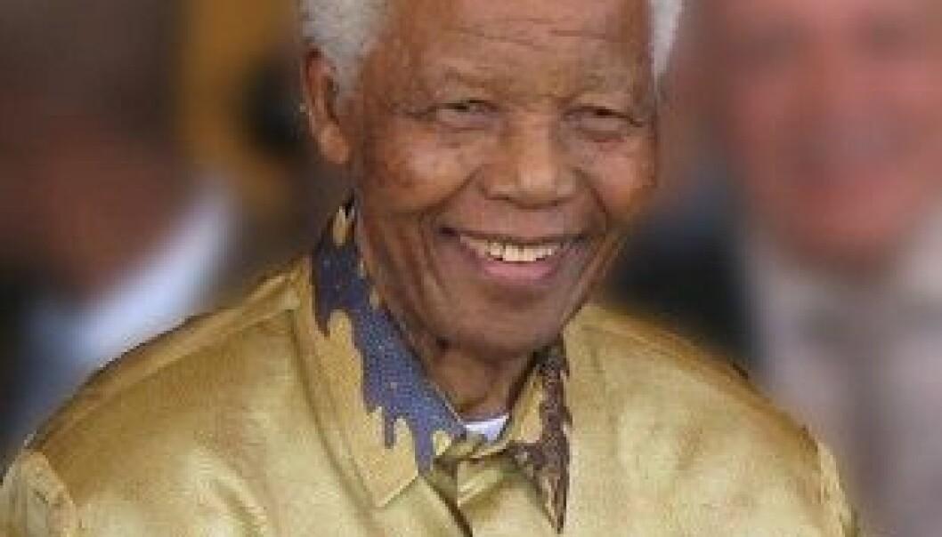 Som den første svarte presidenten i Sør-Afrika (1994-1999) hadde Nelson Mandela hovedansvaret for overgangen fra apartheid til demokrati. Anghy