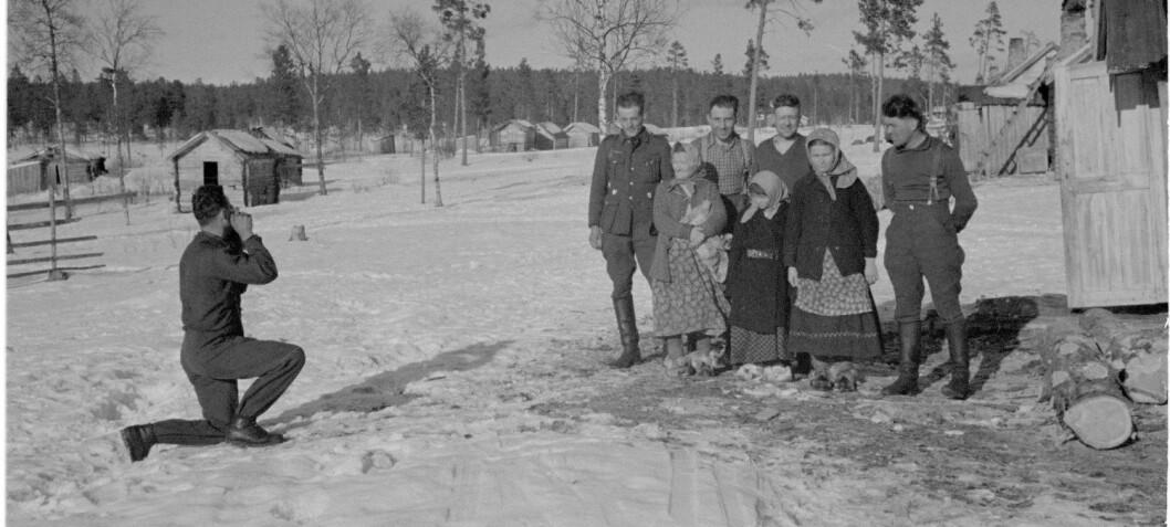 De tyske okkupantene var lite interessert i samene som egen «rase»