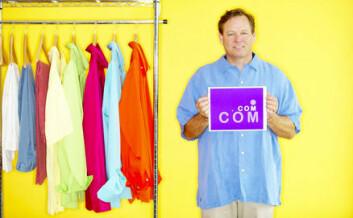 """""""Ville du vært mer tilbøyelig til å kjøpe en skjorte hvis fyren på bildet var kjendis - og ikke en helt ukjent person?"""""""