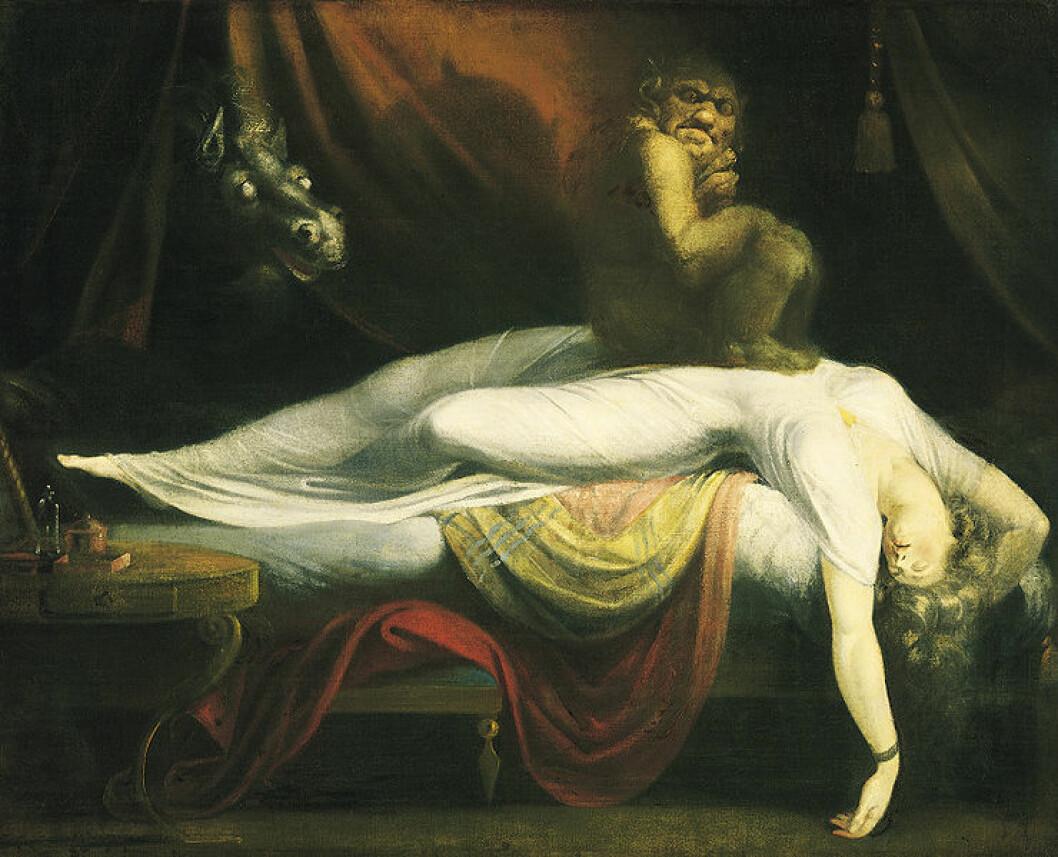 The Nightmare (1781) (Maleri: Johann Heinrich Füssli)