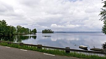 Denne runde innsjøen i Sverige er et gigantisk meteorittkrater