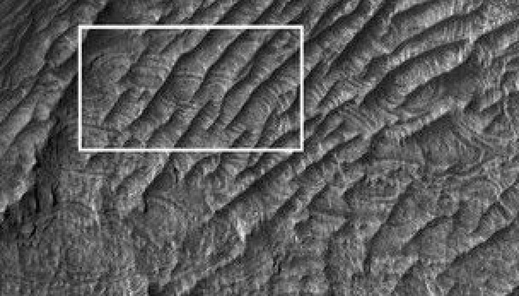 Nytt Mars-landskap oppdaget
