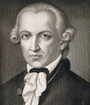 Immanuel Kant (1724-1804). (Foto: (Illustrasjon: Wikimedia Commons))
