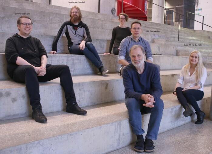 Forskerne fra Universitetet i Bergen som har deltatt i studien.