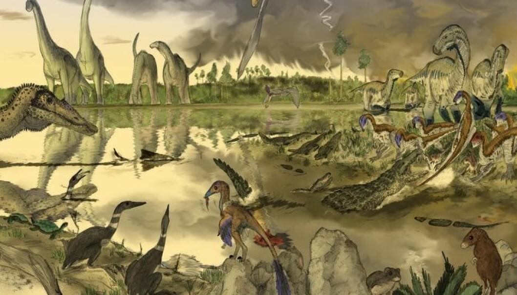 Dinotegnerne kan virkelig bringe fortidens kjemper tilbake til live i sine illustrasjoner. Men har de plikt til å formidle et riktig bilde, i tillegg til et som er estetisk sett bra? (Illustrasjon: Mark Witton/Flickr Creative Commons)