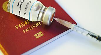 Bør Norge innføre et innenlands vaksinepass?