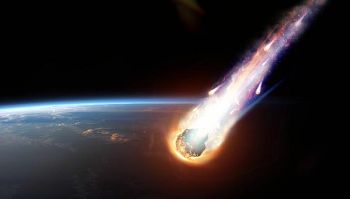 Var det en asteroide som startet den helt spesielle prosessen som i vårt solsystem, antakelig bare finnes på planeten jorda??
