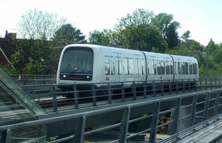 Førerløst metrotog i København. (Foto: Gadgetbox, Wikimedia Commons)