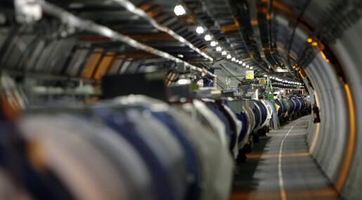 Forskere kan ha sett spor av ny og ukjent fysikk ved CERN
