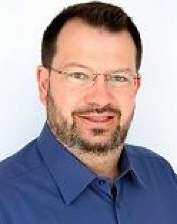 Seniorforsker Lothar Fritsch ved Norsk regnesentral. (Foto: NR)
