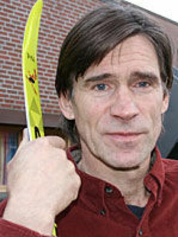 """Forsker Nils-Fredrik Rønbeck, Høgskolen i Finnmark. Foto: Ingrid Pedersen."""