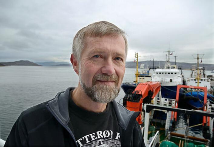 Forsker Harald Gjøsæter ved Havforskningsinstituttet har forsket på økosystemet i Barentshavet i tretti år. (Foto: Havforskningsinstituttet)