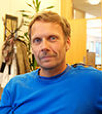 Morten Borgen, barnevernspedagog ved BUP Narvik og prosjektleder for e-BUP ved NST. (Foto: Randi Laukli)