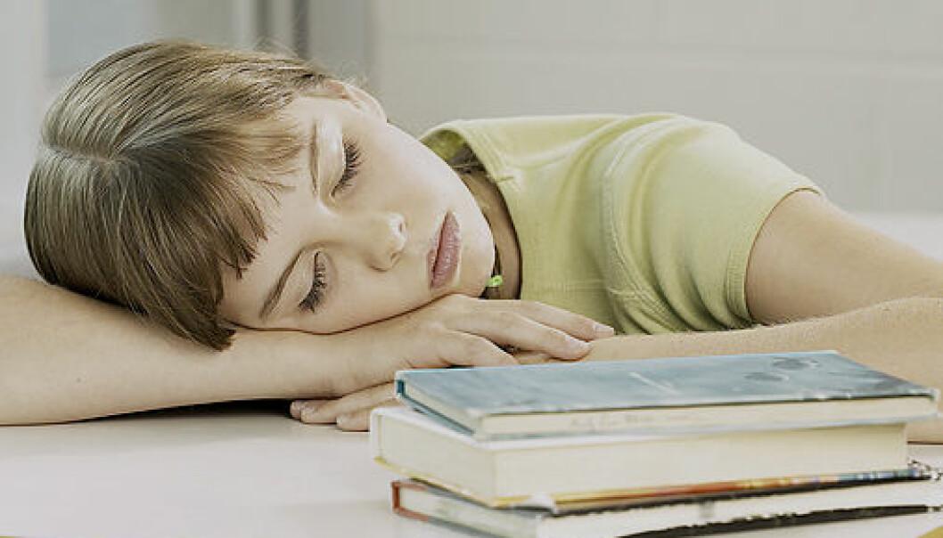 Søvn bryter ned giftstoff i hjernen