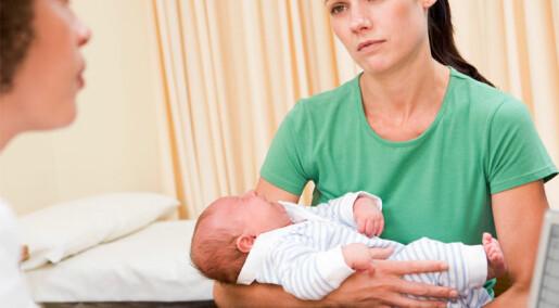 Dårligere psykisk helse hos eldre førstegangsfødende