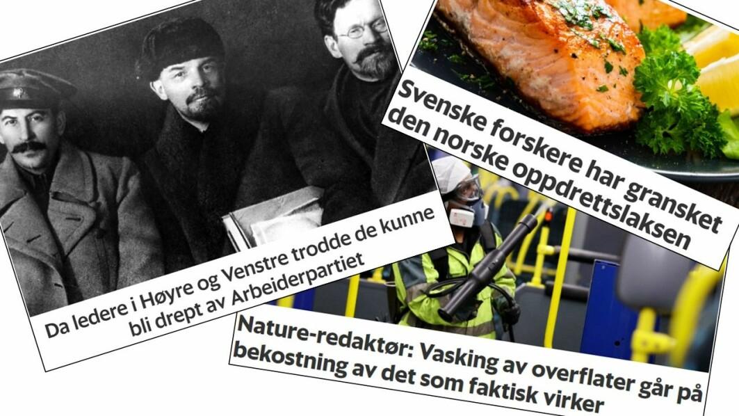 I denne Forskningspodden handler det om frykt for revolusjon, svenske forskere som studerer norsk oppdrettslaks og historien bak åttetimersdagen.