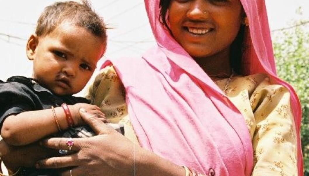 Gode data på mor og barn-helse i fattige land er viktig for å kunne sette i verk eventuelle tiltak. USAID/Chris Thomas