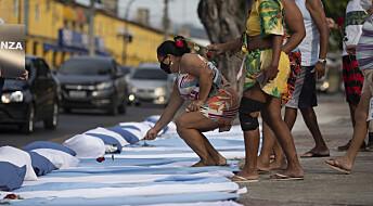 Brasil har en firedel av alle koronadøde i verden
