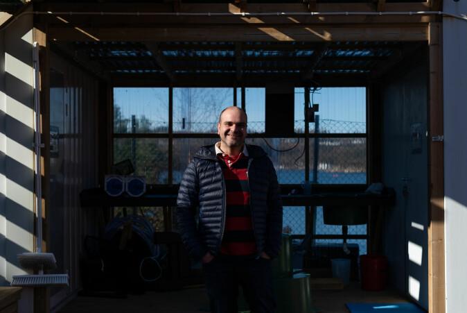 Ved hjelp av programmering har Antonio Agüera-Garcia nå automatisert prøvetakingen.