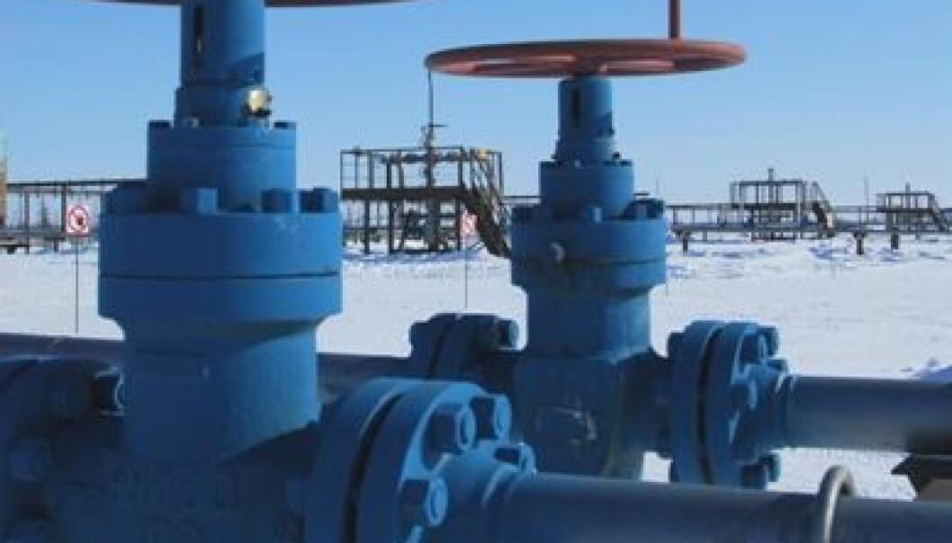 Vest-Sibir er viktig for Russlands produksjon av gass. (Foto: Gazprom)