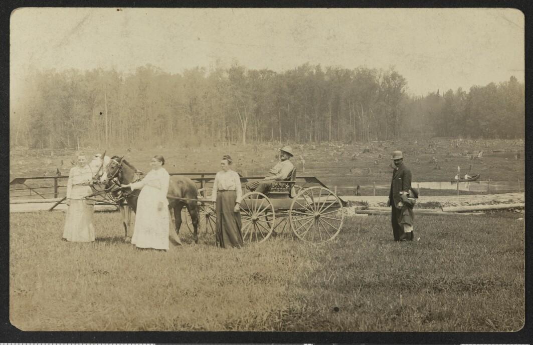 Postkort sendt til Norge fra Colorado, USA i 1919.