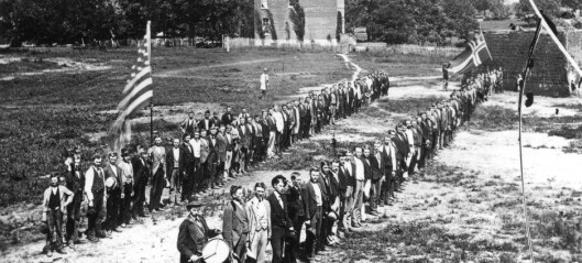 Mange nordmenn var for slaveriet i USA