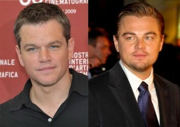 Matt Damon og Leonardi DiCaprio (Foto: Nicolas Genin/Colin Chou/Wikimedia Creative Commons)