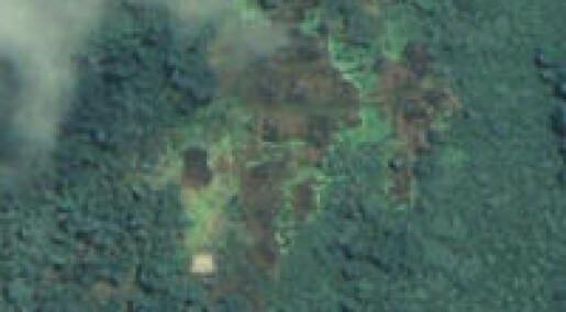 Satellittbilder viser vold i Burma