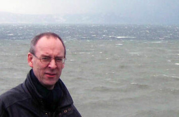 Reidulv Bøe er maringeolog og forskar ved NGU. (Foto: Gudmund Løvø/NGU)