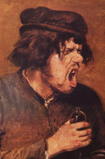 Avsky i kunsten: Det bitre brygg, maleri av den flamske kunstneren Adriaen Brouwer (ca. 1630-1640). (Foto: (Bilde: Adriaen Brouwer/Wikimedia Commons))