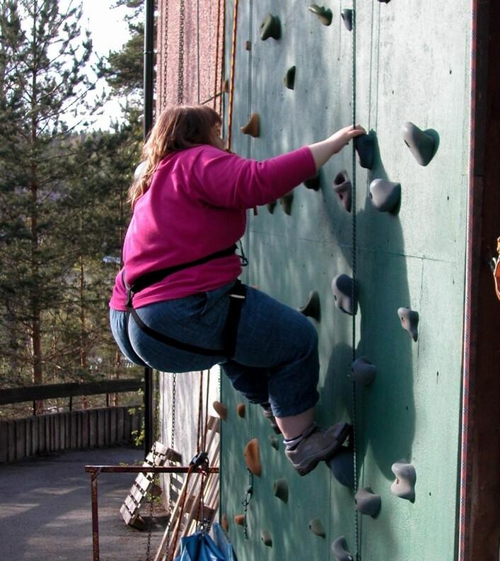Å være kvinne og utviklingshemmet gir en særlig risiko for overvekt. Kvinner er gjennomgående mindre aktive enn menn. (Foto: Frambu)