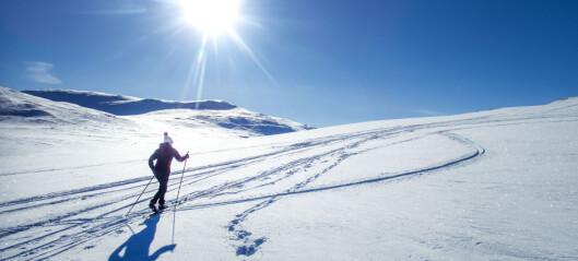 De fleste går ikke på ski i påsken
