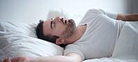 Søvnproblem kan avsløres av en sensor koblet til mobilen din