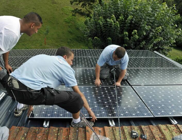 Tranell mener at Norge er industrielt sterkere på produksjon av råvarer og delprodukter enn på ferdige solcellepaneler. (Foto: www.colourbox.com)