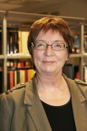 Professor Svanhild Aabø ved Høgskolen i Oslo og Akershus forsker på hvilken rolle folkebiblioteket spiller i dagens samfunn. (Foto: Åshild Losnegard)