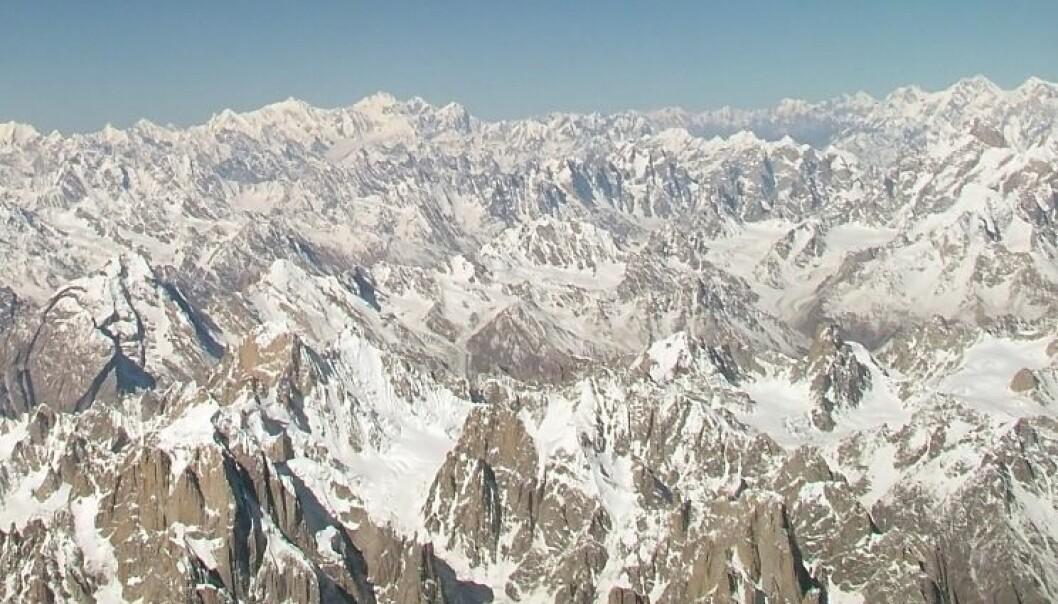 Isbreene i fjellkjeden Karakoram ser ut til å ha holdt seg stabile, eller til og med ha blitt litt større, de siste ti årene. Guilhem Vellut/Wikimedia Creative Commons