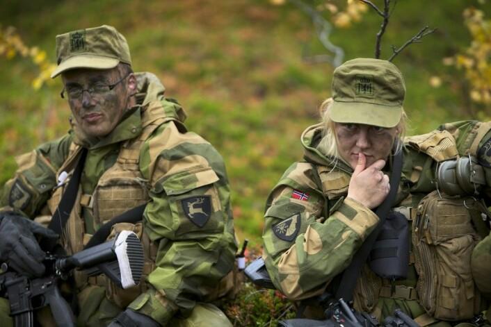 Forskerne anbefaler å være forsiktige med å innføre fellesrom på andre avdelinger i forsvaret. (Foto: Torgeir Haugaard/Forsvarets Mediesenter)