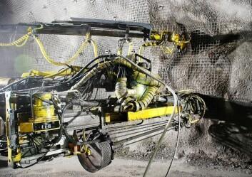 LKAB har installert flere hundre tusen D-Bolt i sine jernmalmgruver i Kiruna og Malmberget. (Foto: Charlie C. Li)