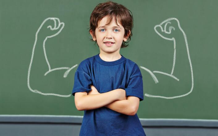 Idretten hjelper gutter å takle mobbing. (Foto: Microstock)