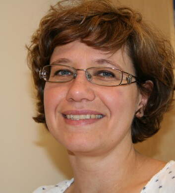 Gabriella Tranell ved Institutt for materialteknologi NTNU og leder av Senter for fornybar energi. (Foto: Synnøve Ressem/NTNU)