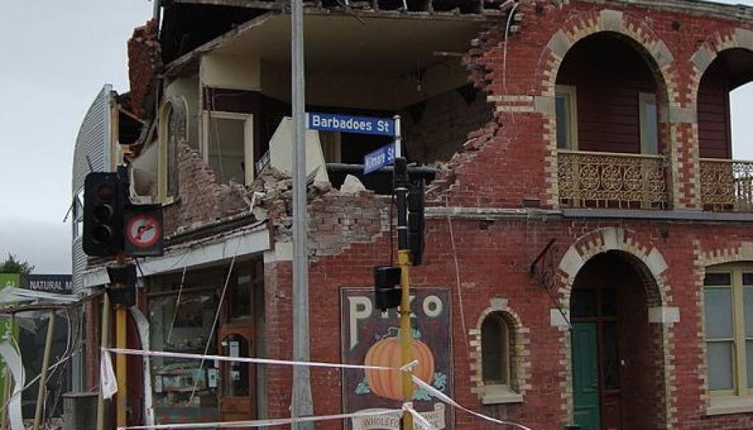Bygninger dreper - ikke jordskjelv