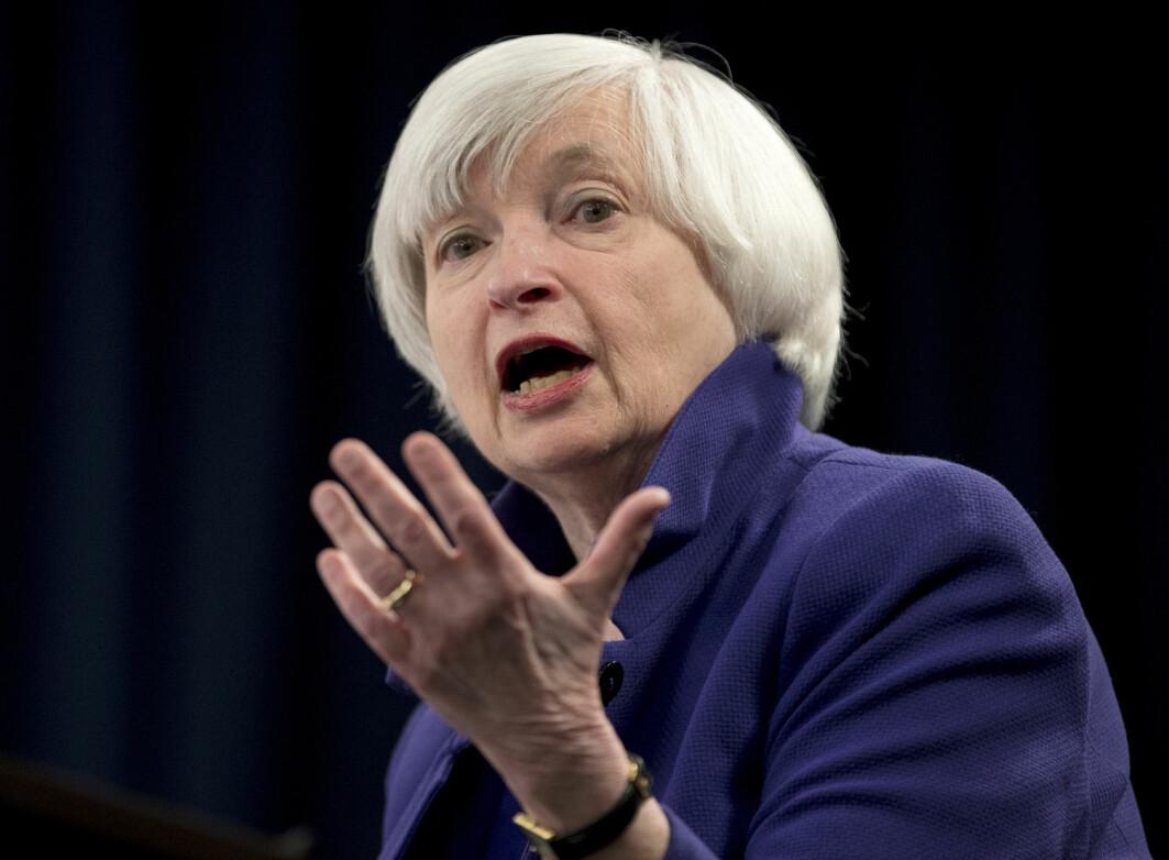 USA finansminister Janet Yellen la mandag fram et forslag om felles selskapsskatt i verden. Både Norge og USA har de siste årene kastet seg på i et «kappløp mot bunnen» og redusert selskapsskatten for bedrifter mye.